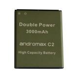 Toko Andromax Rainbow Baterai For Smartfren Andromax C2 Double Power Baterai 3000Mah Lengkap