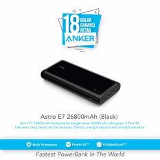 Jual Anker Astro E7 26800Mah Portable Charger Hitam Anker Branded