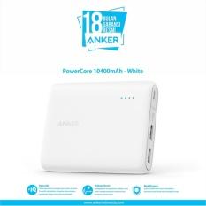 Harga Anker Powercore 10400 Mah Powerbank Putih Online