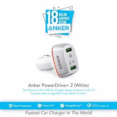 Harga Anker Powerdrive 2 With Quick Charger 3 Putih Terbaik
