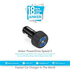 Harga Hemat Anker Car Charger Powerdrive Speed 2 Quick Charge 3 A288