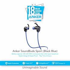Harga Anker Soundbuds Sport Earbuds Biru Origin