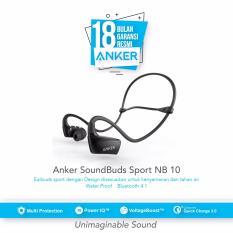 Jual Anker Soundbuds Sport Nb10 Bluetooth Earbuds Hitam Baru