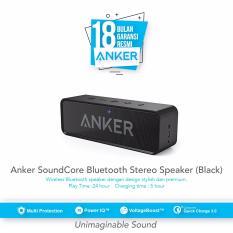Spesifikasi Anker Soundcore Bluetooth Stereo Speaker Black Garansi 18 Bulan Merk Anker