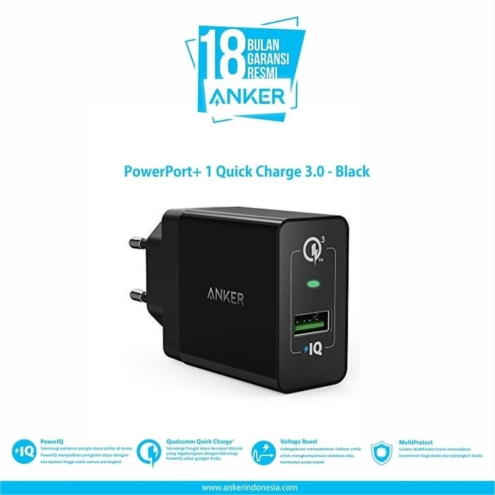 Jual Baterai Handphone Termurah Lengkap Maxtron New7a Smartphone Anker Wall Charger Powerport 1 Quick Charge 30 Hitam A2013