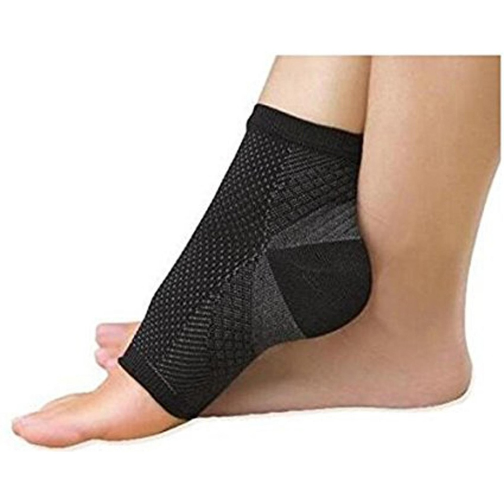 Jual Ankle Compression Sleeve 1 Pair Brace Support Meringankan Plantar Fasciitis Mengurangi Rasa Sakit Pembengkakan Mendukung Kaki Aliran Darah For Pria And Wanita Hitam S M L Xl Oem Branded