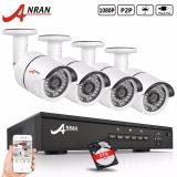 Harga Anran 4Ch Nvr Poe Video Surveillance Cctv Sistem 2 Tb Hdd Onvif 720 P Hd H 264 Outdoor Keamanan Poe Kamera Intl Termahal