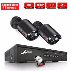 Review Toko Anran 4Ch Nvr Poe Video Surveillance Keamanan Sistem Onvif 1080 P 2 Pcs Hd Outdoor Poe Ip Kamera Intl