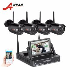 Cara Beli Anran 4Ch Wifi Camera System Hd 7 Lcd Monitor Nvr With 720P Outdoor Waterproof Security Ip Camera Video Surveillance System