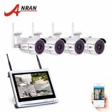 Review Toko Anran 4Ch Wifi Cctv Sistem 12 Lcd Nvr Kit P2P 720 P Hd Ir Night Vision Surveillance Ip Camera Outdoor Keamanan Kamera Intl