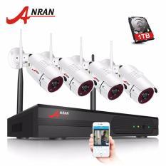 Beli Anran 4Ch Wireless Nvr Kit P2P 960 P Hd Outdoor Waterproof Ir Night Vision Keamanan Ip Kamera Wifi Cctv Sistem Murah Di Tiongkok