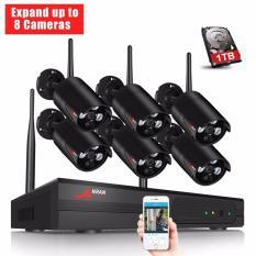 Katalog Anran 8Ch Wireless Nvr Sistem Pengawasan 960 P Hd Ir Outdoor Cctv Wifi Ip Kamera Keamanan Sistem Anran Terbaru