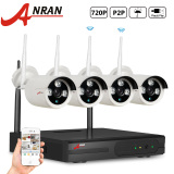 Jual Anran Ar S04W24304 4Ch 720P Wifi Wireless Nvr System Home Surveilliance Security System With 4 Outdoor Indoor Wifi Ir 720P Ip Cameras
