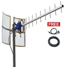 Antena 4G LTE Modem Huawei E3372 Dual Pigtail - Yagi Grid TXR 185