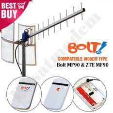 Situs Review Antena Penguat Sinyal Modem Bolt Zte Mf90 With Yagi Txr175 Pigtail Free Dummy Baterai