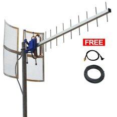 Antena Yagi 4G LTE Modem ZTE MF823 - Yagi Grid TXR 185