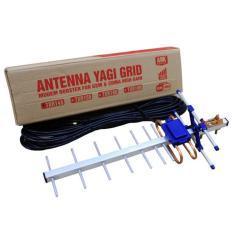 Antena Yagi Dual Driven TXR 145 Penguat Sinyal Modem Prolink PCM100 Smartfren/ AHA