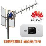 Diskon Antena Yagi Modem Huawei E5577C Yagi Grid Txr 185 Triple Driven Extreme Gain Branded
