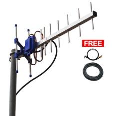 Antena Yagi TXR145 Dual Driven Penguat Sinyal Modem Huawei E173S-1