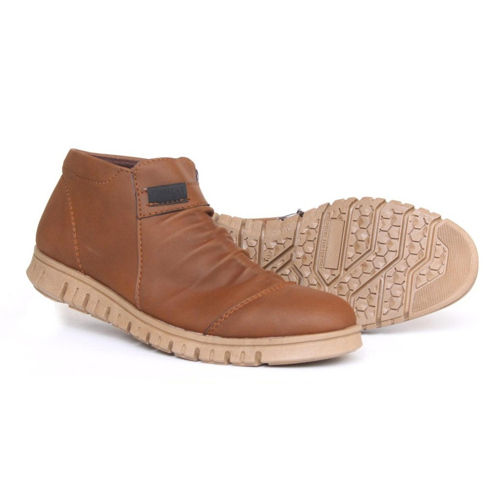 Ulasan Anthonio Zipper Boots Klasik