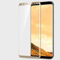 Top 10 Anti Blue Ray Mata Melindungi Full Cover Tempered Glass Full Cakupan Screen Protector Untuk Samsung Galaxy S8 Plus Emas Online