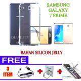 Jual Anti Cr*ck Casing Handphone Untuk Samsung Galaxy J7 Prime Free Tempered Glass Ring Handphone Kabel Data 1 Meter Import