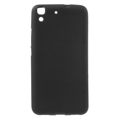 Anti-fingerprint Matte Gel TPU Case for Huawei Honor 4A / Y6 - Black - intl