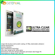 Anti Gores Apple Iphone 4 4S  2 Pcs Depan Belakang - X One Ultra Clear & Scratchproof
