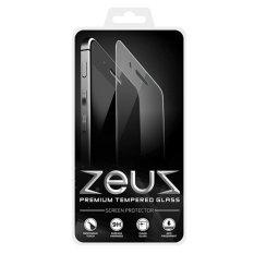 Anti Gores Kaca for Lenovo A6000 / A6000 Plus - Premium Tempered Glass - Round Edge 2.5D - Clear