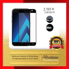 Top 10 Anti Gores Kaca Samsung Galaxy A5 2017 A520F Full Screen Full Cover Hitam Online