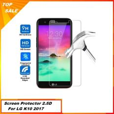 Anti Gores LG K10 2017 Tempered Glass 2.5D - Bening