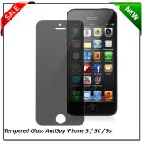 Anti Gores Screen Guard Tempered Glass Spy Iphone 5 5C 5S 5G Gelap Spy Promo Beli 1 Gratis 1