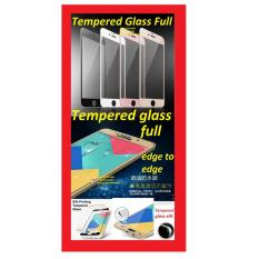 ANTI GORES TEMPERED TEMPER GLASS KACA SILK SAMSUNG S6 G920 FULL COVER EDGE TO EDGE WHITE HIFI 906883
