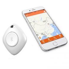 Alarm anti kehilangan, Mini label pintar pelacak GPS Bluetooth Alarm anti kehilangan pencari kunci pencari (putih) - International