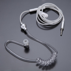 Harga Anti Radiasi Tabung Udara Telinga Headphone With Mikrofon Stereo Di Speaker Mini Putih International Termahal