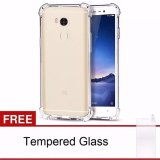 ANTI SHOCK / ANTI CRACK CASEOLOGY FOR XIAOMI REDMINOTE 3 / REDMINOTE 3 PRO CLEAR + GRATIS TEMPERED GLASS | Lazada Indonesia