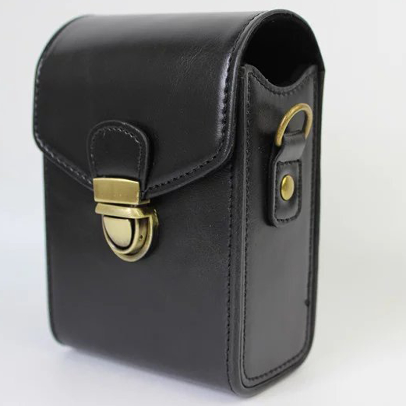 Anti Shock Hard Kulit Bahu Tas Pu Leather Camera Case Untuk Canon Powershot G9X G7X G7X Mark Ii S120 Sx600 Ixus 275 G16 Sx710 Sx700 Hitam Oem Diskon 40