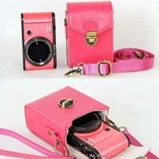 Anti-shock Hard Kulit Bahu Tas PU Leather Camera Case ForCanonPowerShot G9X G7X G7X Mark II S120 SX600 IXUS 275 G16 SX710SX-Intl