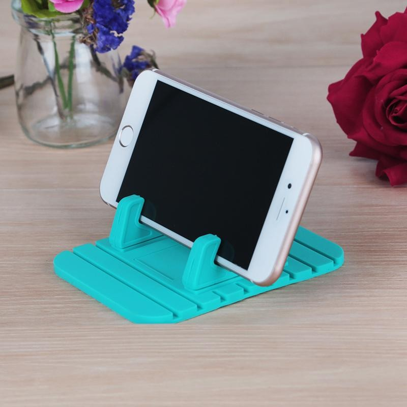 Anti Slip Silicone Mat Cell Phone Car Mount Holder Stands Bracket Universal For Mobile Phones And
