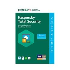 Antivirus Kaspersky Total Security Pure 2018 3 Pc 1 Tahun Kaspersky Diskon 40