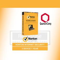 Antivirus Norton Internet Security 3 PC 1 Tahun