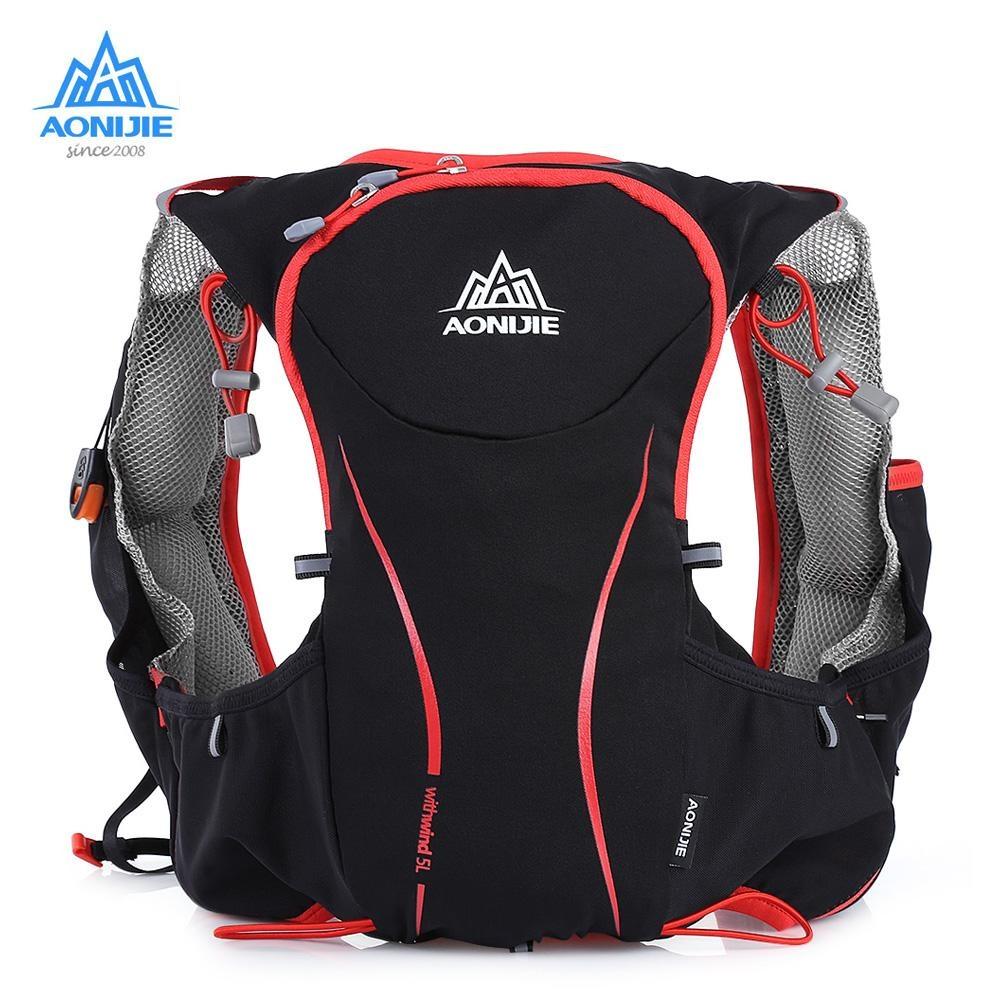 Toko Aonijie Outdoors Backpack 5L Bersepeda Vest Hydration Pack Untuk Menjalankan Naik Intl Aonijie Di Tiongkok