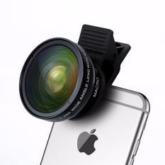 Beli Apexel Lensa Super Wide Angle Lens 45X Macro 12 5X For Smartphone Black Apexel Murah