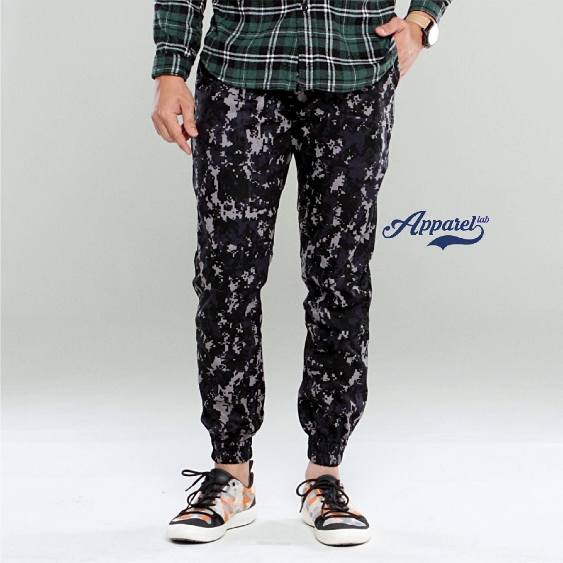 Beli Apparel Lab Jogger Army Navy Acufat Nyicil