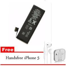 Ulasan Lengkap Apple Baterai Iphone 5G Genuine Standart Battery Iphone 5G Gratis Handsfree Iphone 5 Original