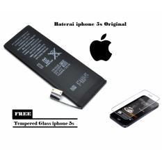 Jual Apple Baterai Iphone 5S Original 100 Free Tempered Glass Online Dki Jakarta