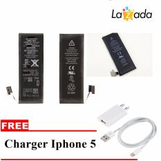 Apple Battery For Iphone 5G Free Charger Iphone 5 Apple Murah Di Dki Jakarta