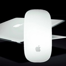 Apple Bluetooth Mouse Notebook MAC Desktop One Machine General Ultra - Thin Touch Office Home Wireless Mouse - intl