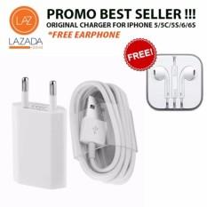 Apple Charger for iPhone 5/5c/5s/6/6s/6+/6splus (GRATIS Apple Handsfree iPhone)