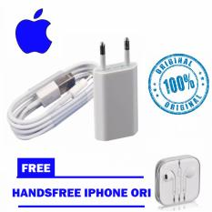 Jual Apple Charger Iphone Original 5 5C 5S 6 6S 6 6Splus Kabel Data Original Handsfree Iphone Original Branded Murah